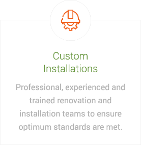 image explaining custom installations
